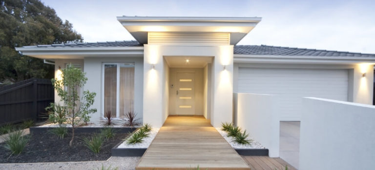 Single storey modern home