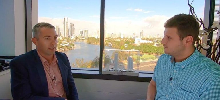 James Nikiforides and Trent McIntyre ANZ video